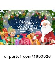 Happy Holidays Christmas Greeting