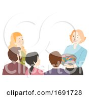 Poster, Art Print Of Parents Teacher Conference Candy Illustration