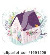 Poster, Art Print Of House Plants Illustration