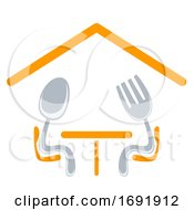 Dining Icon Design Illustration