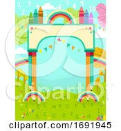 Colors Arch Nature 123 Illustration