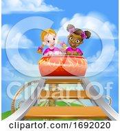 Cartoon Roller Coaster