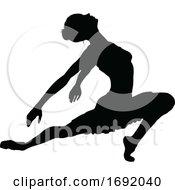 Poster, Art Print Of Ballet Dancer Silhouette
