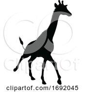Giraffe Animal Silhouette