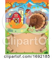 Poster, Art Print Of Turkey Bird Border