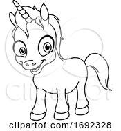 Lineart Unicorn