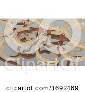 Poster, Art Print Of Abstract Motion Background