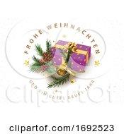 Frohe Weihnachten Und Ein Gluckliches Neues Jahr