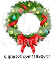 Christmas Wreath by Vector Tradition SM