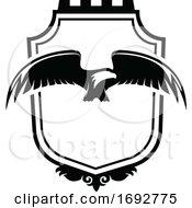 Black And White Eagle Design
