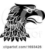 Eagle Head Imperial Heraldic Symbol