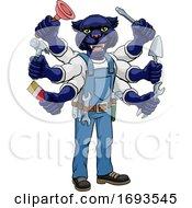Panther Multitasking Handyman Holding Tools