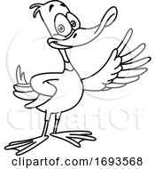 Presenting Duck