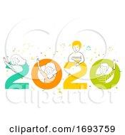 People Welcoming 2020