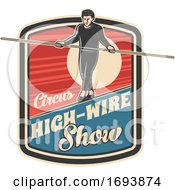 Circus Tightrope High Wire Walker
