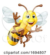 Honey Bumble Bee Bumblebee Cartoon Character