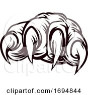 Poster, Art Print Of Claw Monster Animal Talon Paw Hand