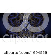 Decorative Mandala Banner Design