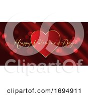 Poster, Art Print Of Valentines Day Banner