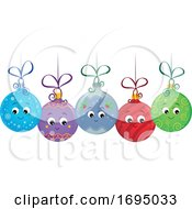 Christmas Ornament Bauble Characters