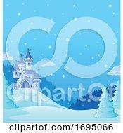 Winter Castle Background
