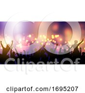 Party Crowd Banner Design