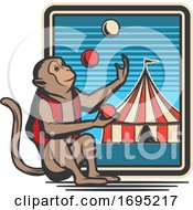 Poster, Art Print Of Circus Design