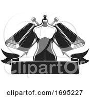 Poster, Art Print Of Black And White Tailor Design