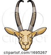 Gerenuk Mascot