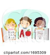 Stickman Kids Workbooks Answers Illustration