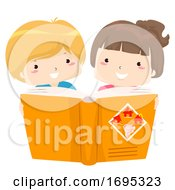 Kids Disaster And Risk Reduction Book Illustration