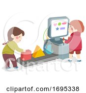 Kids Shape Machine Illustration