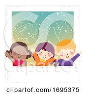 Kids Picture World Photo Day Illustration