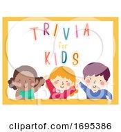 Kids Word Trivia Illustration