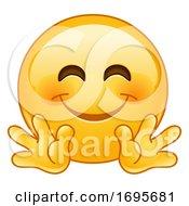 Poster, Art Print Of Hugging Smiley Emoji
