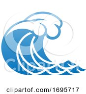 Wave Ocean Water Icon Concept by AtStockIllustration