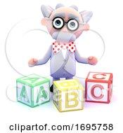 3d Mad Scientist Teaches The Alphabet