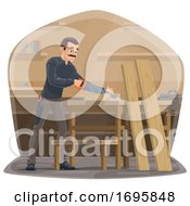 Poster, Art Print Of Carpenter