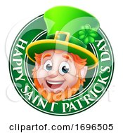 Leprechaun St Patricks Day Cartoon Design