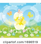 Poster, Art Print Of Hatching Chick