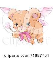Cute Teddy Bear Fairy