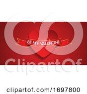 Elegant Valentines Day Banner Design