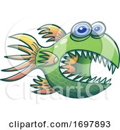 01/26/2020 - Cartoon Spiny Fish
