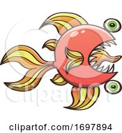 01/26/2020 - Cartoon Zombie Goldfish