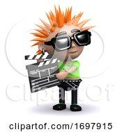 Poster, Art Print Of 3d Punk Movie Maker
