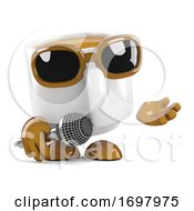 3d Coffee Cup Singer