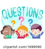 Kids Questions Illustration