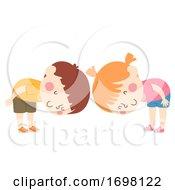 Kids Bow Illustration