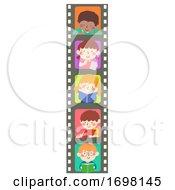 Kids Film Study Books Write Illustration