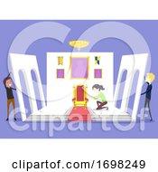People Set Maker Illustration